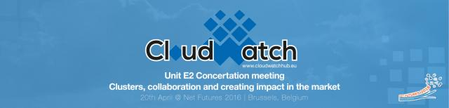 Unit E2 Concertation meeting - 20th April Net Futures 2016